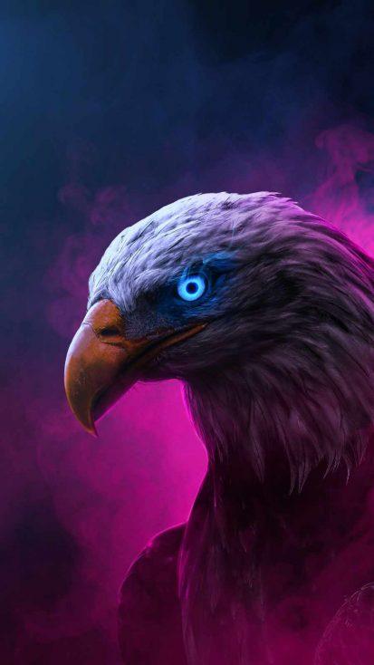 Eagle Predator iPhone Wallpaper
