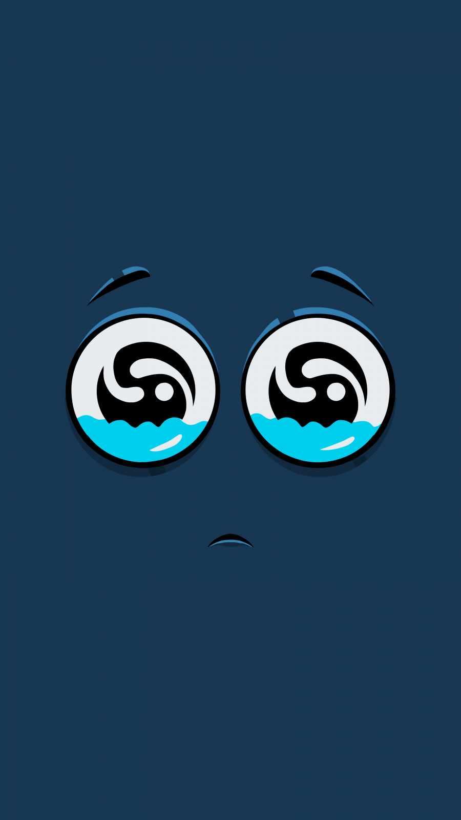 Emotional Face iPhone Wallpaper