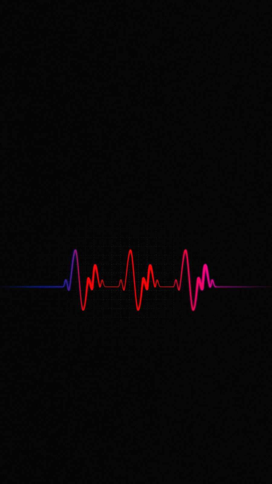 Heart Beats iPhone Wallpaper