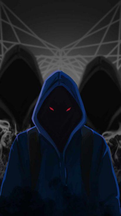 Hoodie Dark World iPhone Wallpaper
