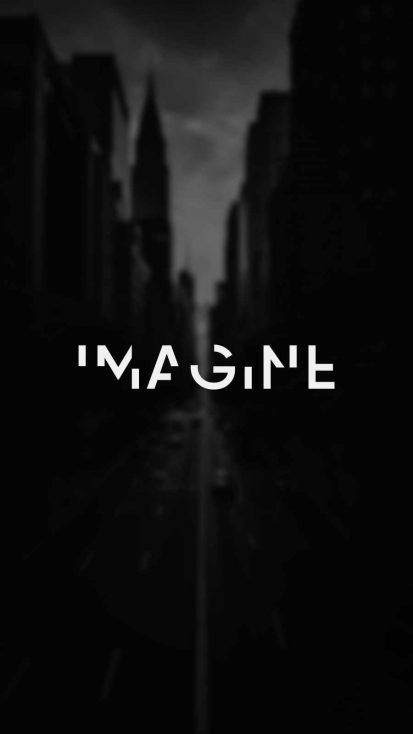Imagine iPhone Wallpaper