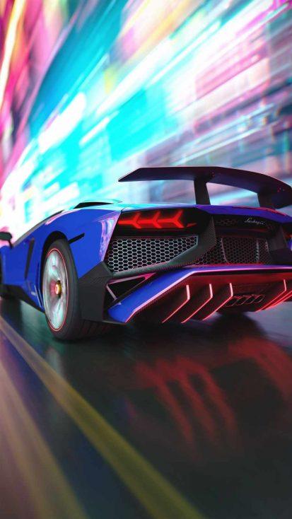 Lamborghini Speed iPhone Wallpaper