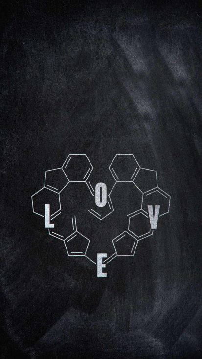 Love Chemistry iPhone Wallpaper