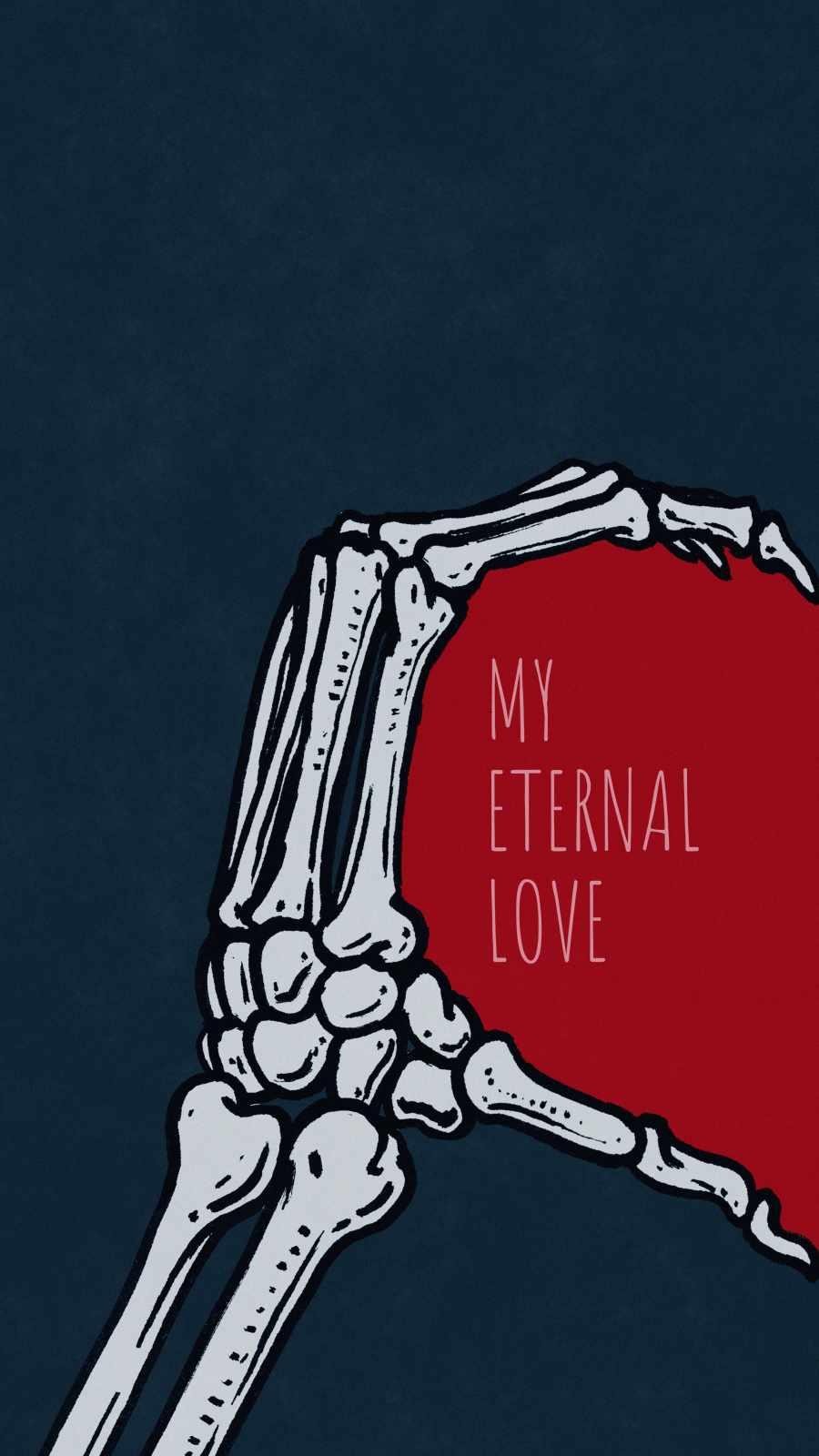 My Eternal Love iPhone Wallpaper