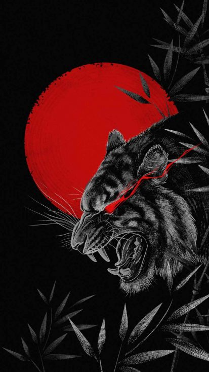 Red Moon Tiger