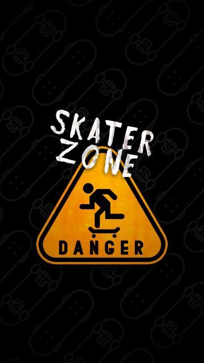 Skater Zone iPhone Wallpaper