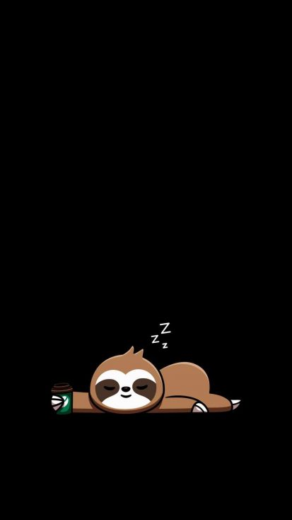 Sloth iPhone Wallpaper