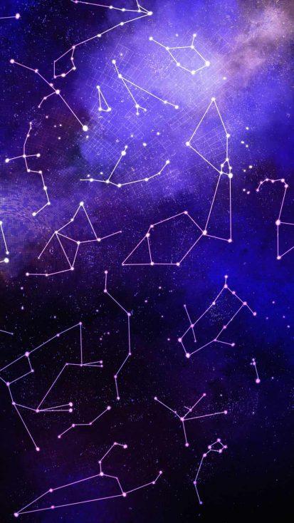 Star Map iPhone Wallpaper