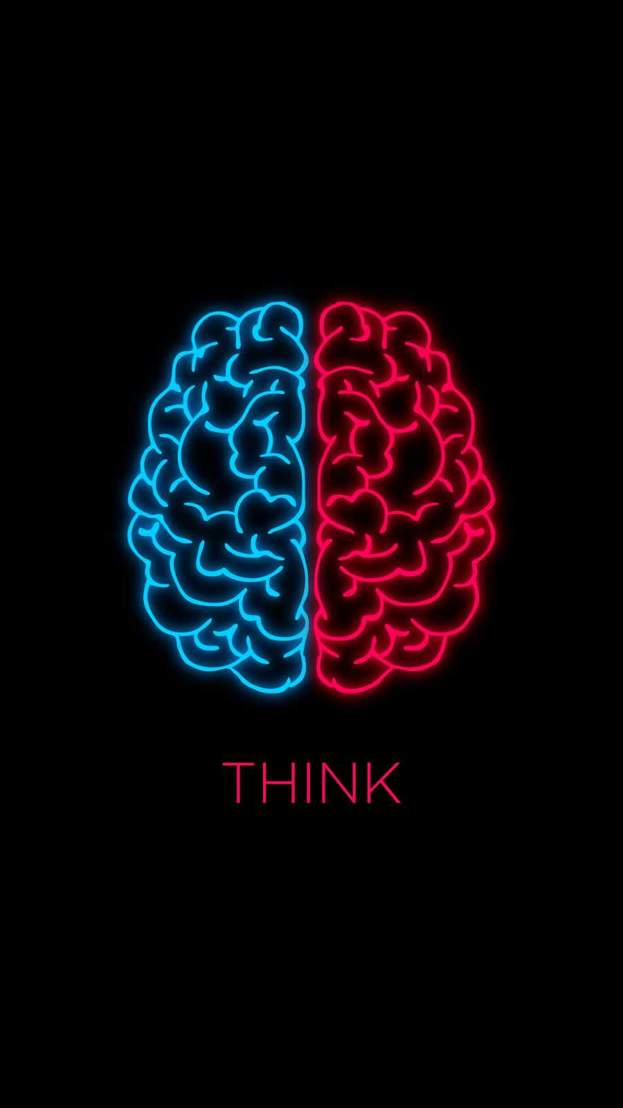 Think iPhone Wallpaper