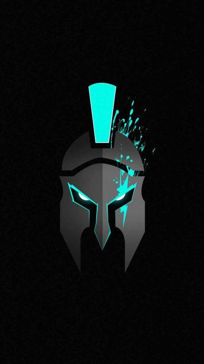 Warrior Art iPhone Wallpaper