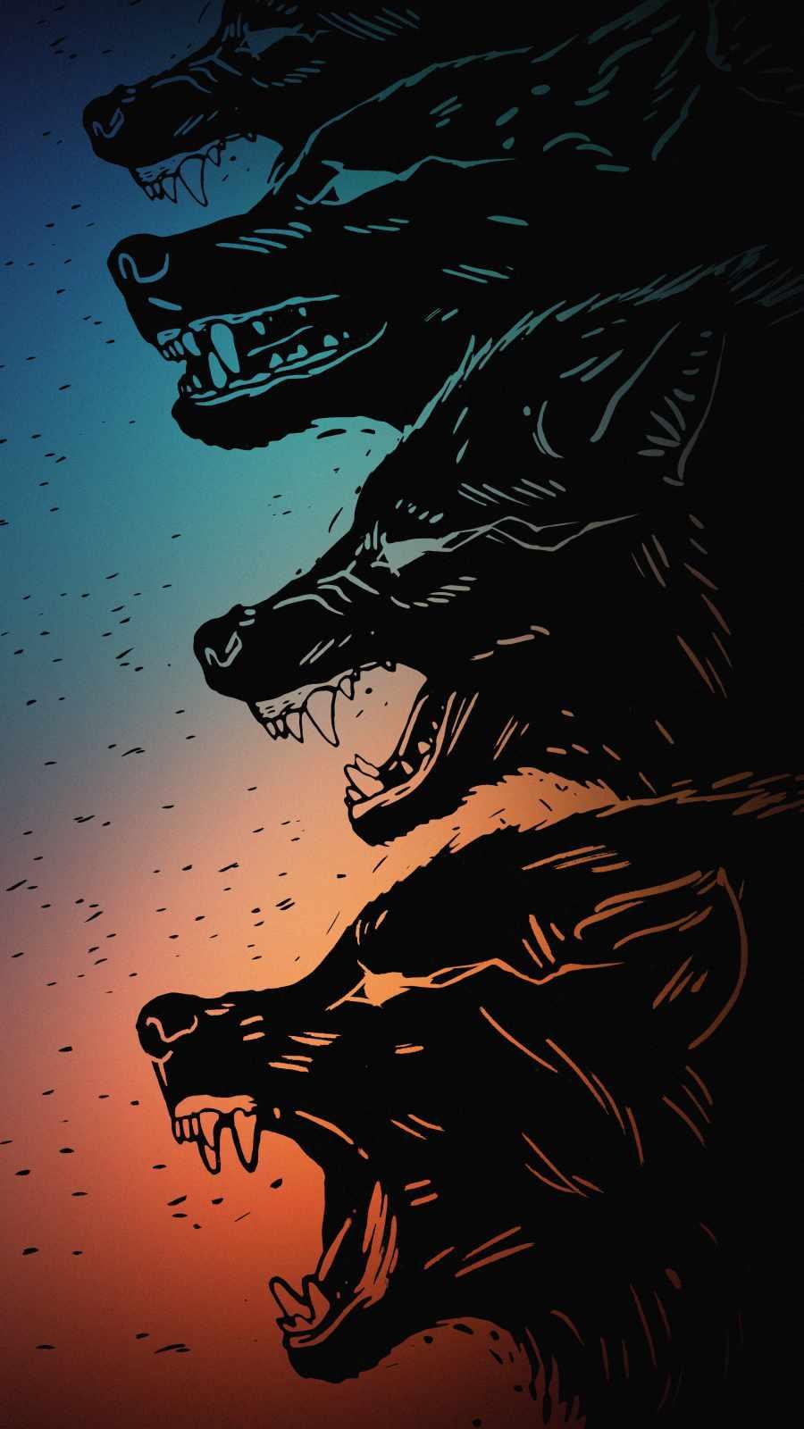 Wolf Gang iPhone Wallpaper