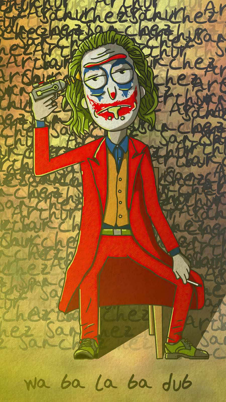 rick x joker