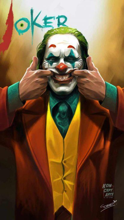 smiling tears of joker